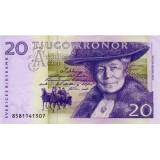 Банкнота 20 крон, Швеция.