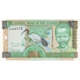 Банкнота 10 даласи, 2001 год, Гамбия.