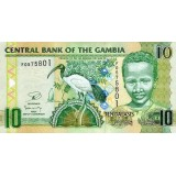 Банкнота 10 даласи, 2006 год, Гамбия.