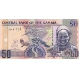 Банкнота 50 даласи, 2006 год, Гамбия.