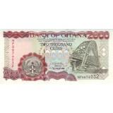 Банкнота 2000 седи, 2003 год, Гана.