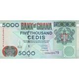 Банкнота 5000 седи, 2006 год, Гана.