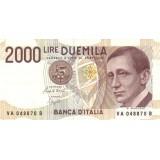 Банкнота 2000 лир. Гульельмо Маркони. 1990 год, Италия