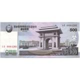 Банкнота 500 вон. 2008 год, Северная Корея.