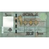 Банкнота 1000 фунтов, 2011 год, Ливан.