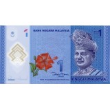 Банкнота 1 ринггит. 2011 год Малайзия.