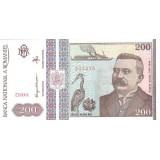 Банкнота 200 лей. 1992 год, Румыния.