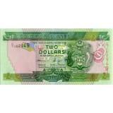 Банкнота 2 доллара. 2011 год, Соломоновы острова.