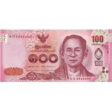 Банкнота 100 батов, Таиланд.