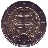 Монета 2 евро, 2009 год, Словакия.