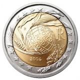 50 лет Всемирной продовольственной программы. 2 евро, 2004 год, Италия.