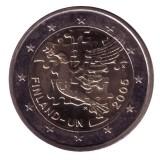 60 лет Организации Объединенных Наций (ООН). Монета 2 евро, 2005 год, Финляндия.