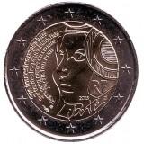 225-летие Фестиваля Федерации. Монета 2 евро. 2015 год, Франция.