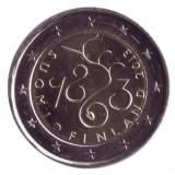 150 лет Парламенту Финляндии. Монета 2 евро, 2013 год, Финляндия.