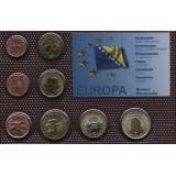 Набор пробных евро Боснии и Герцеговины 2007 года в блистере
