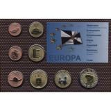 Набор пробных евро Кейта 2009 года в блистере