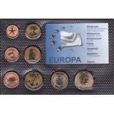 Набор пробных евро Кипра 2006 года в блистере