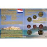 Набор пробных евро  Сент-Мартин (Saint-Martin) 2005 года в буклете