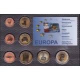 Набор пробных евро  Сен-Пьер и Микелон 2010 года в блистере