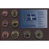 Набор пробных евро  Шетландских островов 2012 года в блистере