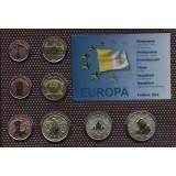 Набор пробных евро  Ватикана 2014 года в блистере