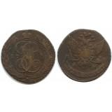 5 копеек 1789 года АМ Российская Империя