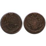 5 копеек 1789 года ЕМ Российская Империя