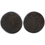 5 копеек 1794 года ЕМ Российская Империя