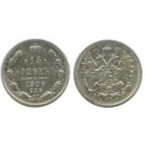15 копеек,1906 года, (СПБ-ЭБ) серебро  Российская Империя