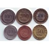Набор монет Армении (6 шт.). 2003 - 2004 гг., Армения.