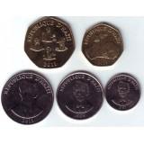 Набор монет Гаити (5 шт.), 1997 - 2011 гг., Гаити.