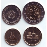 Набор монет Ирана (4 шт.), Иран.