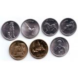 Набор монет (7 шт.), 2004 год, Нагорный Карабах.