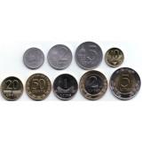Набор монет Литвы (9 шт). 1991-2013 гг., Литва.