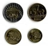Набор монет Уругвая (4 шт.). 2011 год, Уругвай.
