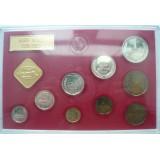 Годовой набор разменных монет СССР 1976 ЛМД (твердый), редкость
