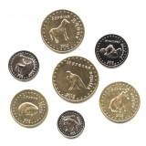 Башкортостан, набор из 7 монет 2012 года