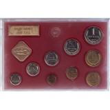 Банковский набор монет СССР 1977 года в пластиковой упаковке, СССР, ЛМД