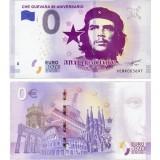 """Сувенирная банкнота """"0 евро"""" Эрнесто Че Гевара,90 лет со дня рождения"""