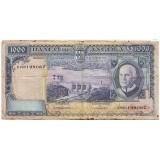 Банкнота 1000 эскудо. 1962 год, Ангола.