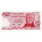Банкнота 100 песо. Аргентина.