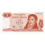 Банкнота 1 песо. Аргентина.