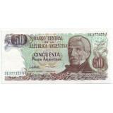 Банкнота 50 песо. Аргентина. (Вар. I.)