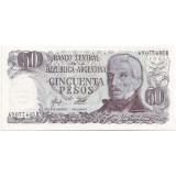 Банкнота 50 песо. Аргентина. (Вар. II).