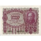 Бона 20 крон. 1922 год, Австрия.
