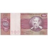 Банкнота 100 крузейро. Бразилия.