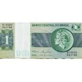 Банкнота 1 крузейро. Бразилия.
