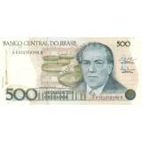 Банкнота 500 крузадо. 1986 год.  Бразилия.