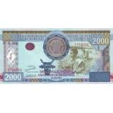 Банкнота 2000 франков. 2008 год, Бурунди.