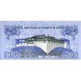 Банкнота 1 нгултрум. 2006 год, Бутан.
